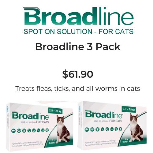 Broadline 3 Pack – $61.90