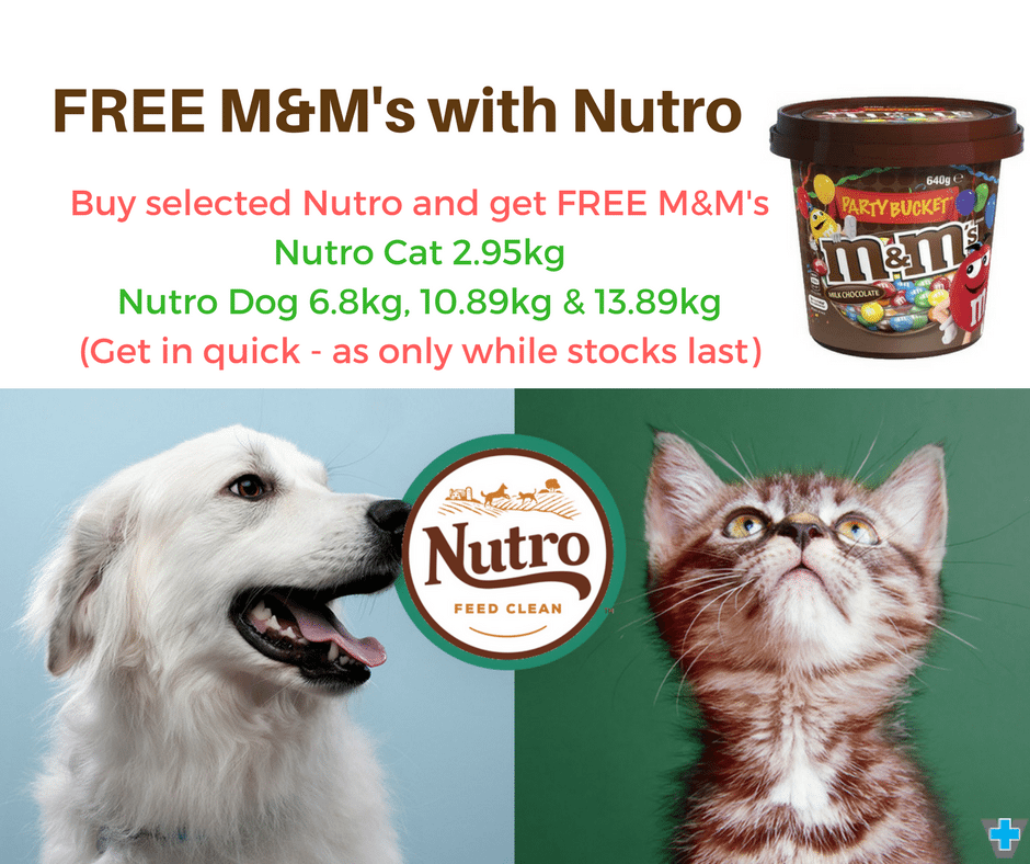 FREE M&M's Bucket With Selected Nutro