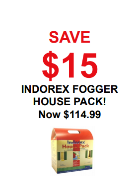 Indorex Fogger House Pack – Save $15 – Now $114.99
