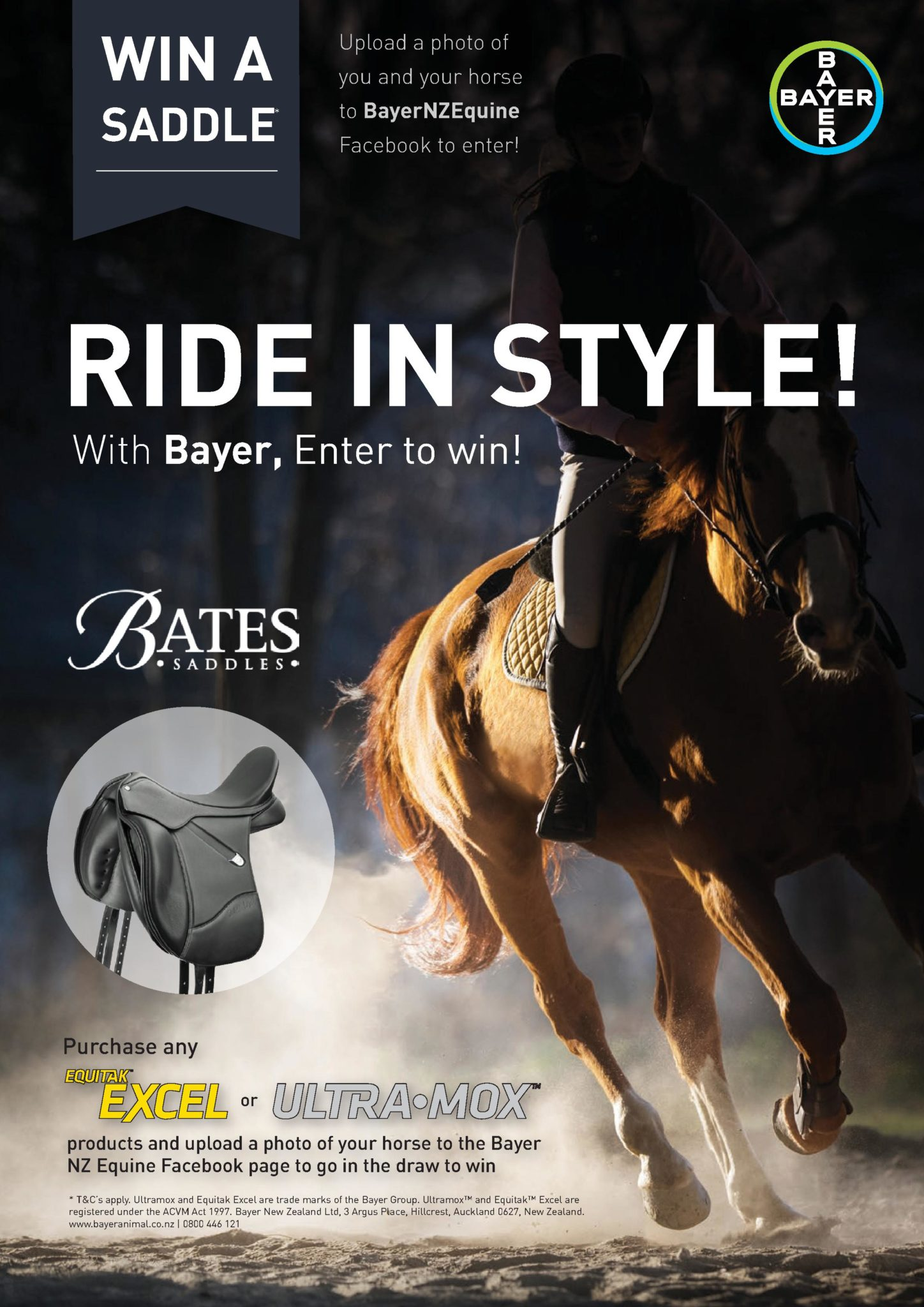 Win A Saddle!