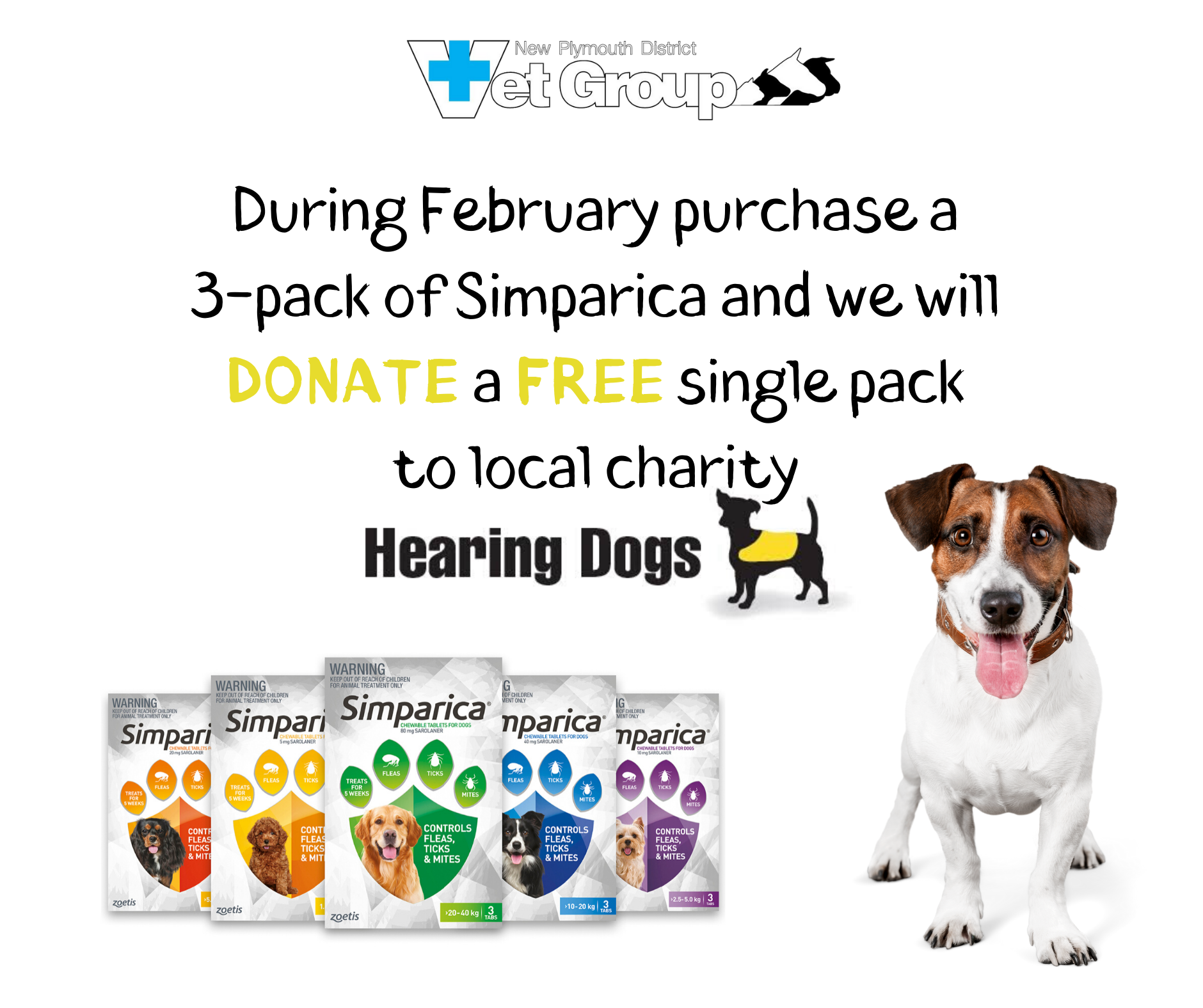 Buy Simparica And Support Hearing Dogs NZ