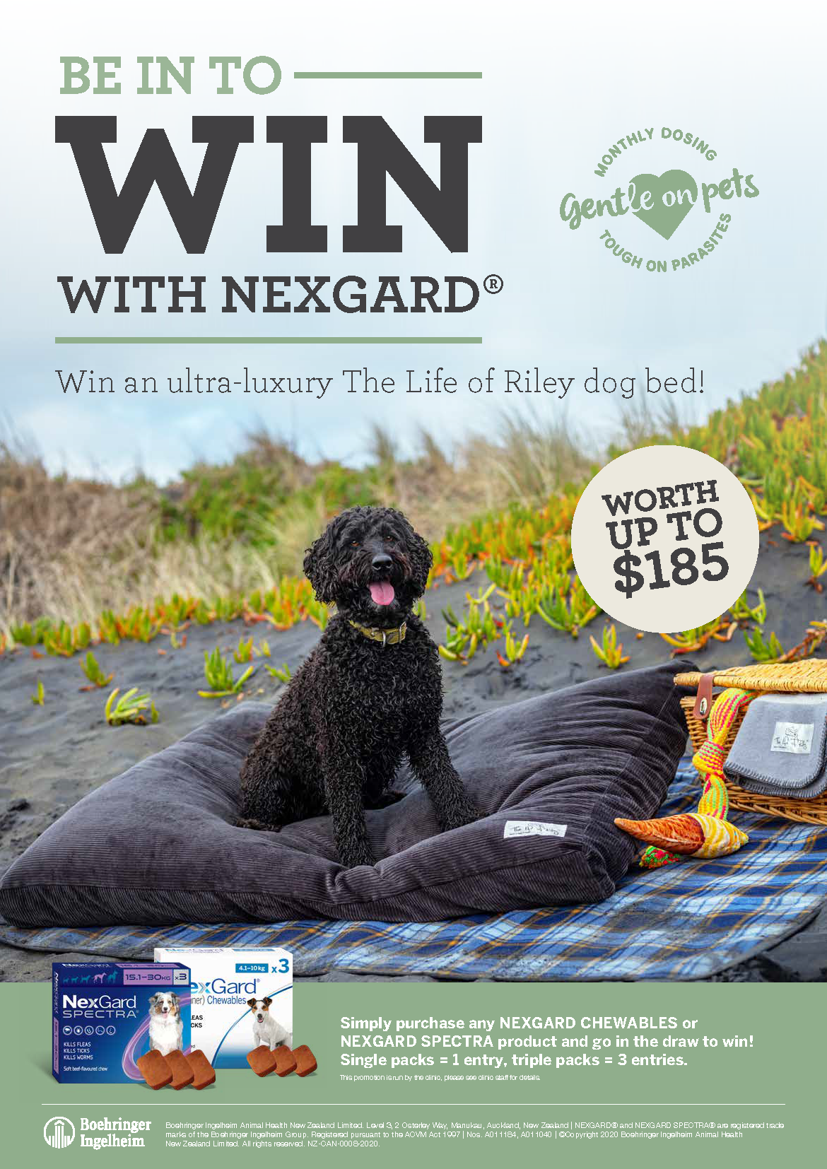 Be Into Win With Nexgard